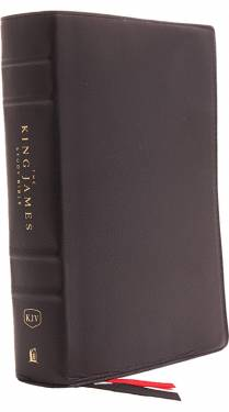 KJV The King James Study Bible Full Color Black Genuine Leather 9780718079895