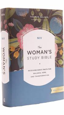 NIV The Woman's Study Bible Full-Color Multicolor Hardcover 9780785212379