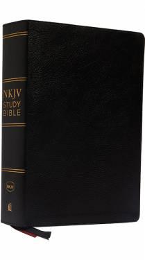 NKJV Study Bible 2 Color Black Bonded Leather 9780785220480