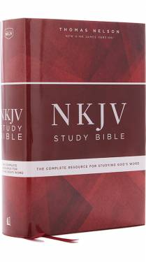 NKJV Study Bible 2 color Hardcover 9780785220343