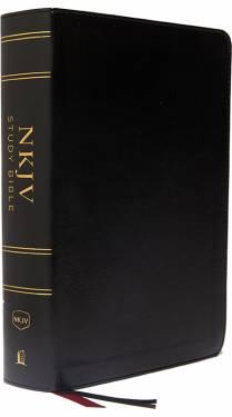 NKJV Study Bible Full-Color Black Leathersoft 9780785220633
