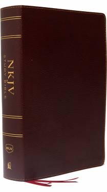 NKJV Study Bible Full-Color Burgundy Bonded Leather 9780785220671