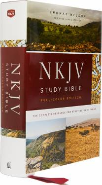 NKJV Study Bible Full-Color Hardcover 9780785220626