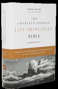 Charles F. Stanley Life Principles Bible KJV hardcover 196x300