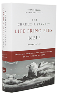 Charles F. Stanley Life Principles Bible hardcover 168x300