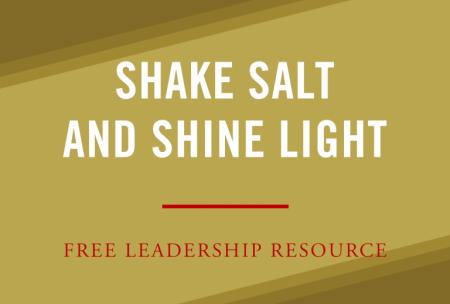 Shake Salt And Shine Light