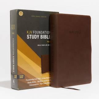 KJV Foundation Study Bible Photo