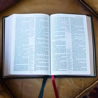 KJV Giant Print Center-Column Reference Bible