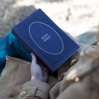 KJV Holy Bible Soft Touch Edition Photo