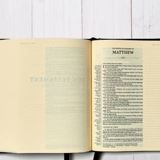 KJV Journal the Word Reference Bible Interior