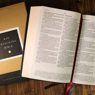 KJV Preaching Bible Photo