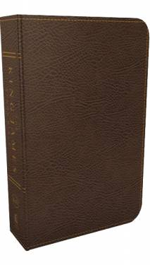The King James Study Bible Full Color Brown Bonded Leather 9780718079758