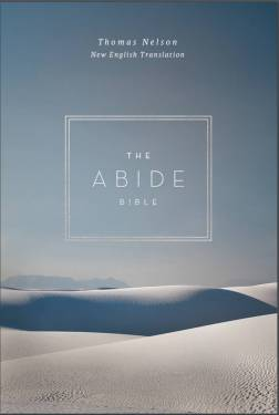 cover of Matthew from the NET Abide Bible