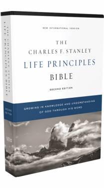 NIV Charles F. Stanley Life Principles Bible 2nd edition 9780785225560