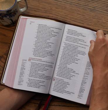 NKJV Single-Column Reference Bible photo