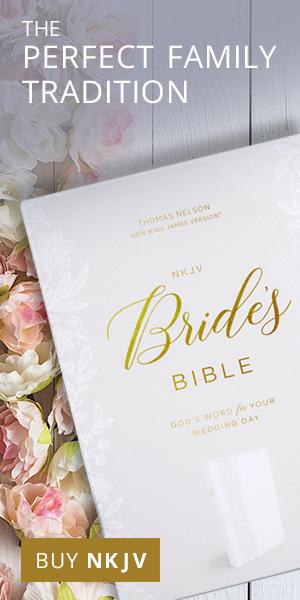 Brides Bible cover