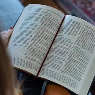 KJV Large Print Reference Bible Maclaren Series interior