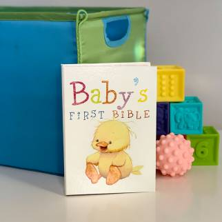 NKJV Babys First Bible Photo