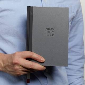 NKJV Compact Single Column Reference Bible Photo