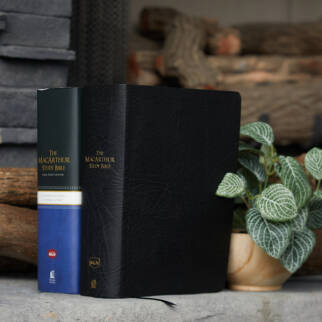 The MacArthur Study Bible Large Print NKJV photo