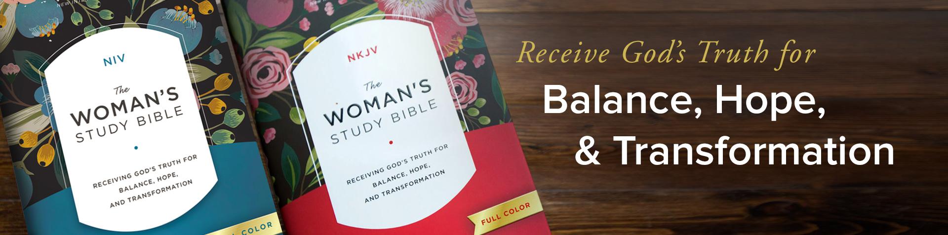Woman's Study Bible NIV, NKJV