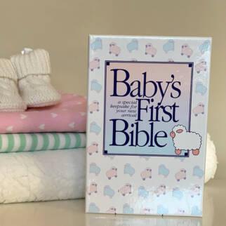 KJV Baby's First Bible photo