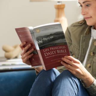 NASB Life Principles Daily Bible photo