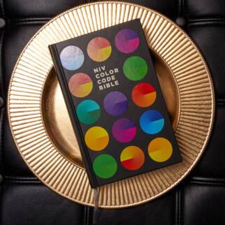 NIV Color Code Bible photo