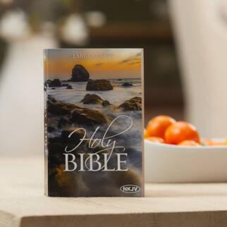 Economy Outreach Bible Larger Print NKJV photo