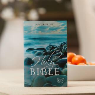 KJV Holy Bible Larger Print photo