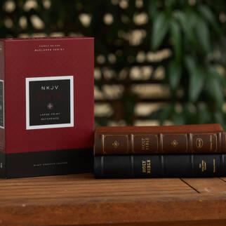 NKJV Large Print Bible Maclaren Series photo