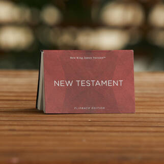 NKJV New Testament Flipback Edition photo