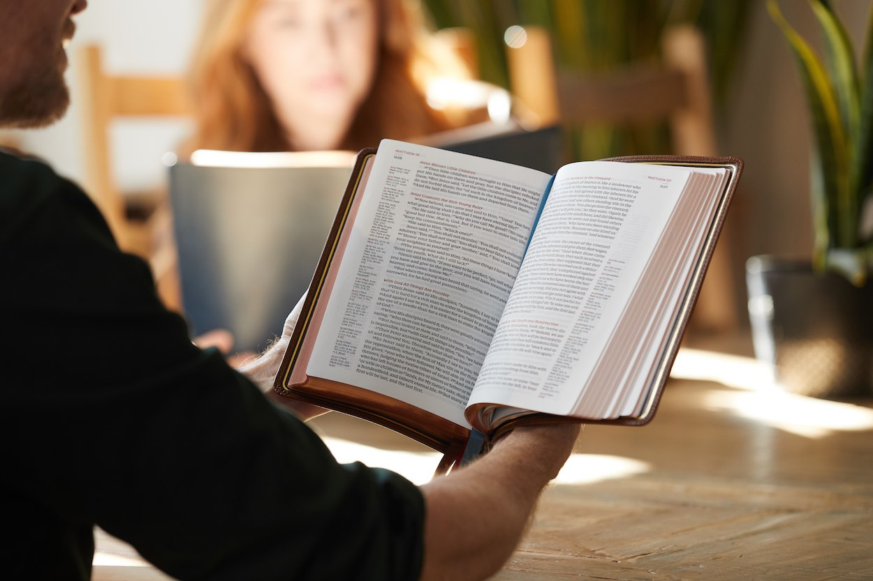 Text Only vs Reference Bibles
