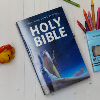 NKJV Children's Outreach Bible photo